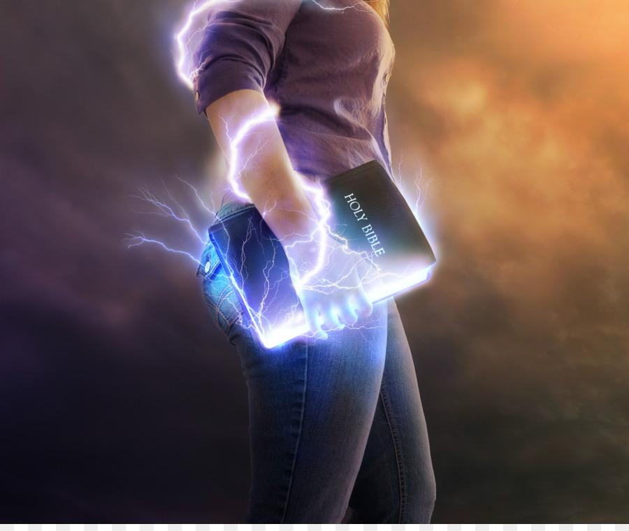 Holy bible thunder hand